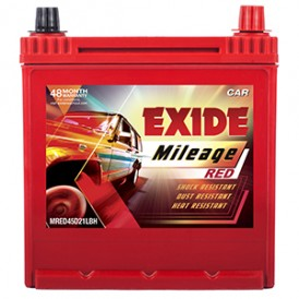 Exide Mileage Red MRED 45D21LBH