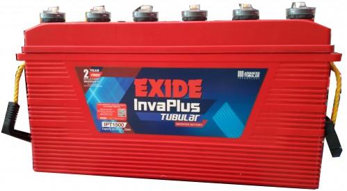 Exide Inva Plus Tubular 1500
