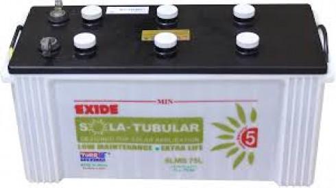 Exide Solar 6LMS 75L