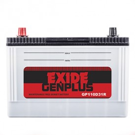 Exide Gen Plus -GP110D31R