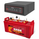 Exide XTATIC 650VA Home UPS and Exide Insta Brite IB100
