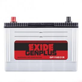 Exide Gen Plus -GP110D31L